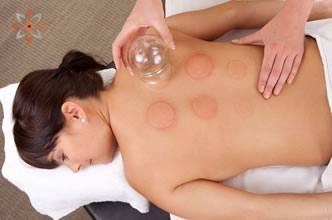 cupping and acupuncture gorey